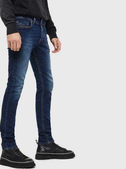 Diesel - Sleenker 086AJ, Blu medio - Jeans - Image 4
