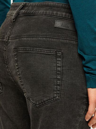 Diesel - Fayza JoggJeans 009HM, Nero/Grigio scuro - Jeans - Image 4
