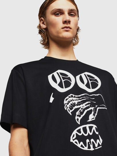 Diesel - TEORIALE-X2, Nero - T-Shirts - Image 4