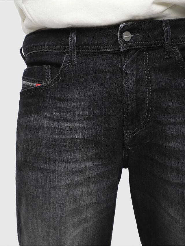 Diesel - THOSHORT, Nero/Grigio scuro - Shorts - Image 3