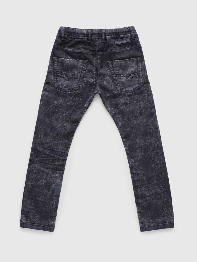 Diesel - KROOLEY-J JOGGJEANS, Nero/Grigio - Jeans - Image 2
