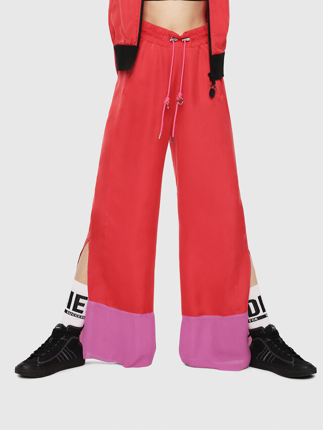 Diesel - P-LILLY-A, Corallo - Pantaloni - Image 1