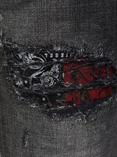 Diesel - D-Jevel 009JN, Nero/Grigio scuro - Jeans - Image 4