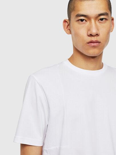 Diesel - T-TOMI, Bianco - T-Shirts - Image 3