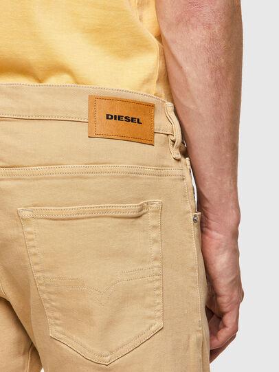 Diesel - D-Yennox 009HA, Marrone Chiaro - Jeans - Image 4