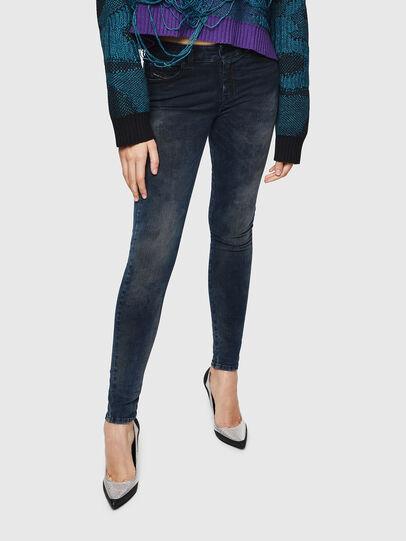 Diesel - Slandy 0091X, Blu Scuro - Jeans - Image 1