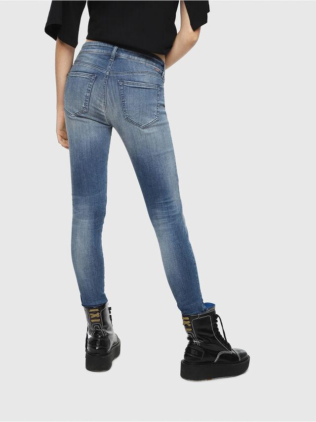 Diesel - Slandy 084MU, Blu medio - Jeans - Image 2