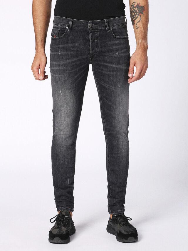 SLEENKER 084NQ, Nero Jeans