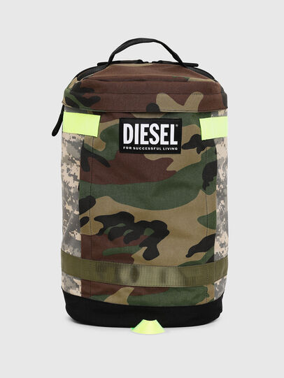 Diesel - PIEVE, Verde Camo - Zaini - Image 1
