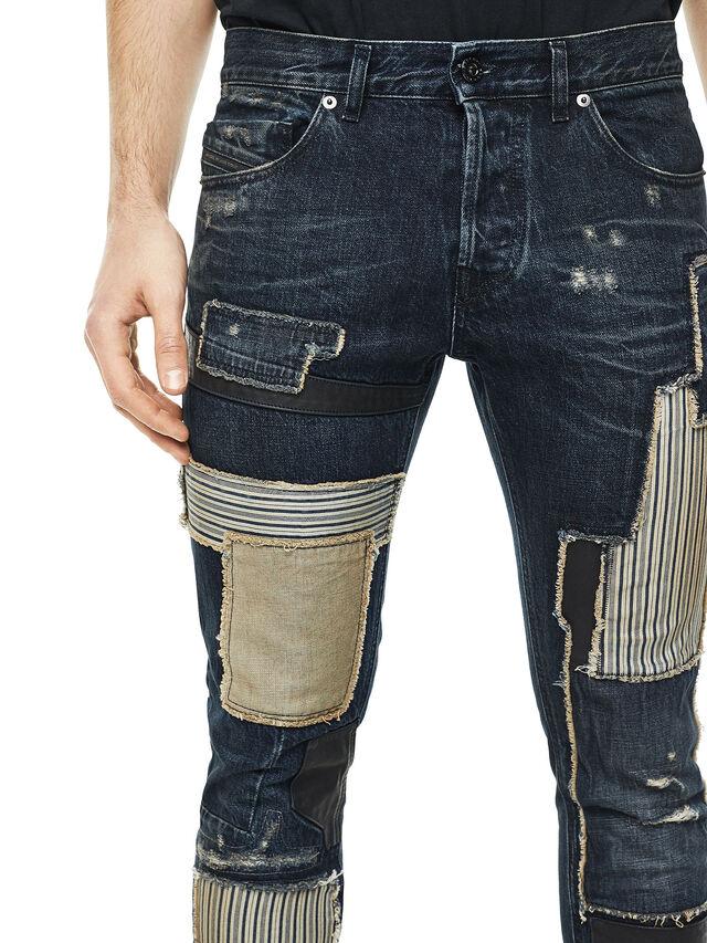 Diesel - TYPE-2813D, Blu Scuro - Jeans - Image 4