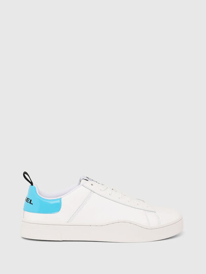 Diesel - S-CLEVER LOW LACE, Bianco/Blu - Sneakers - Image 1