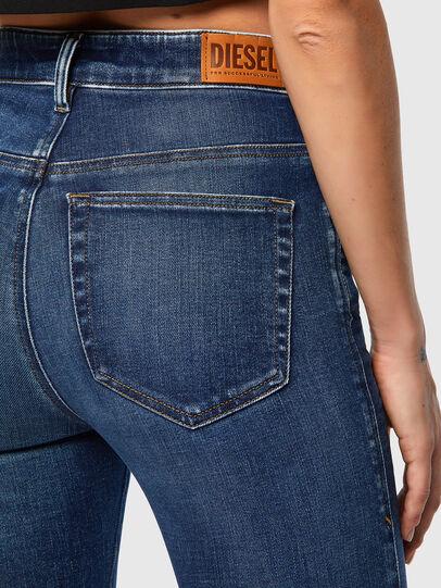 Diesel - Slandy High 009ZX, Blu Scuro - Jeans - Image 3