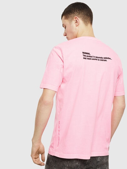 Diesel - T-JUST-NEON, Rosa - T-Shirts - Image 3