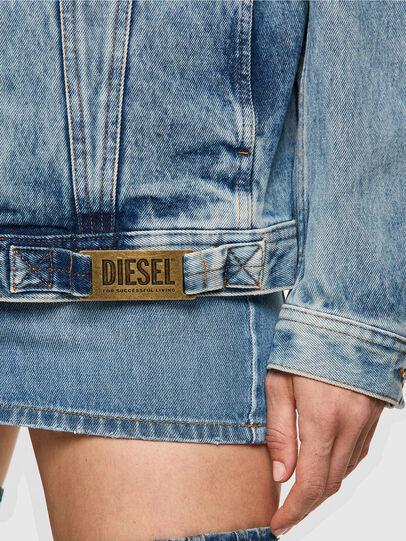 Diesel - NHILL-C1, Blu Chiaro - Giacche in denim - Image 6