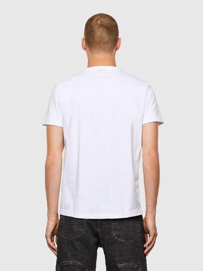 Diesel - T-DIEGOS-A3, Bianco - T-Shirts - Image 2