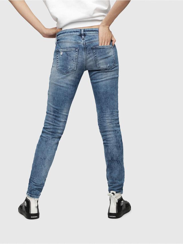 Diesel - Gracey JoggJeans 080AS, Blu medio - Jeans - Image 2