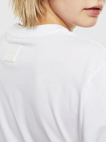 Diesel - T-HUSTY-LS, Bianco - T-Shirts - Image 6