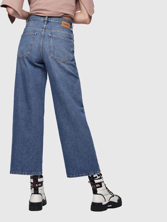Diesel - Widee 080AN, Blu medio - Jeans - Image 2