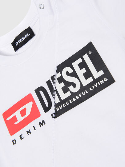 Diesel - TDIEGOCUTYB, Bianco - T-shirts e Tops - Image 3