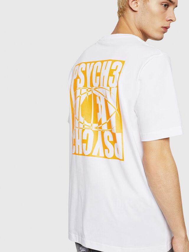 Diesel - T-JUST-Y20, Bianco - T-Shirts - Image 2