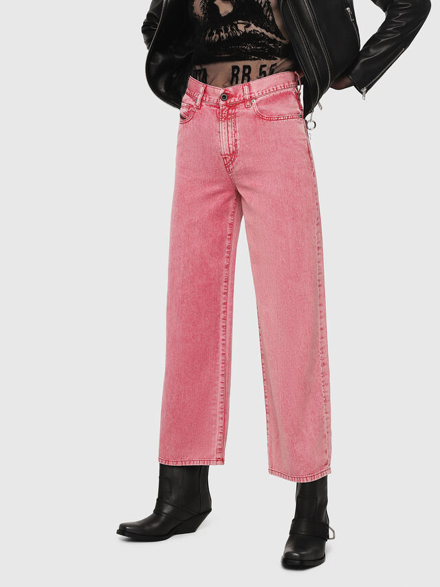 Diesel - Widee 069EB, Rosso - Jeans - Image 1