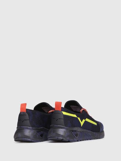 Diesel - S-KBY, Blu/Nero - Sneakers - Image 3