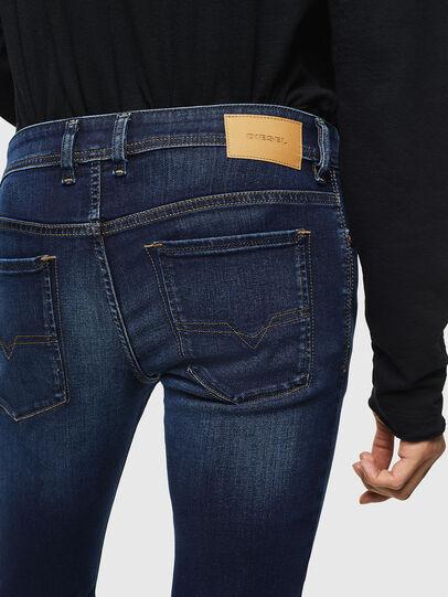 Diesel - Sleenker 084RI, Blu Scuro - Jeans - Image 5
