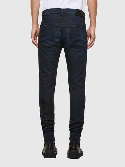 Diesel - D-REEFT JoggJeans® 069RB, Blu Scuro - Jeans - Image 2