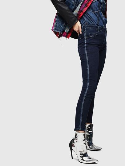 Diesel - Babhila 0096R, Blu Scuro - Jeans - Image 6