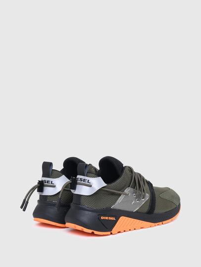 Diesel - S-KB UP LACE, Verde Militare - Sneakers - Image 3