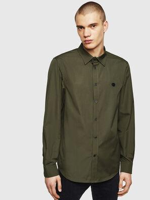 S-BILL, Verde Scuro - Camicie