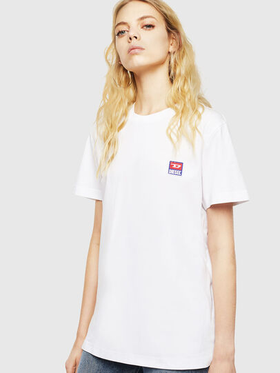 Diesel - T-DIEGO-DIV, Bianco - T-Shirts - Image 2