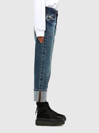 Diesel - D-Reggy 0079P, Blu Scuro - Jeans - Image 4