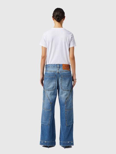 Diesel - D-Laly 0AFAM, Blu medio - Jeans - Image 6