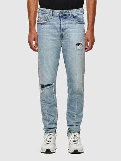 Diesel - D-Vider 009JR, Blu Chiaro - Jeans - Image 1