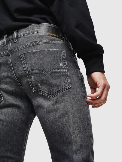 Diesel - Tepphar 0095J, Nero/Grigio scuro - Jeans - Image 4
