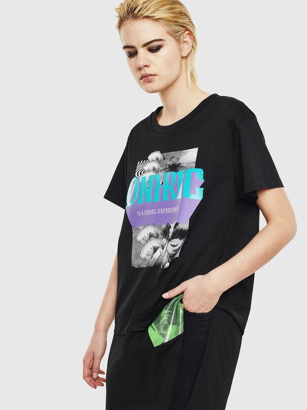 T-SHALIE, Nero - T-Shirts