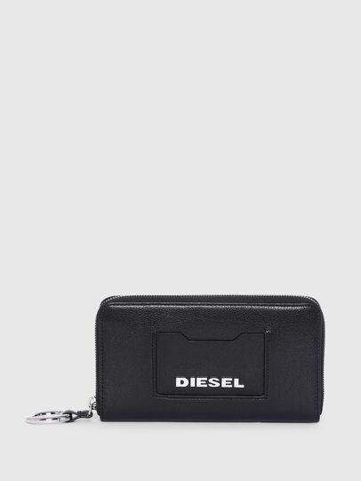 Diesel - GRANATO LC, Nero - Portafogli Con Zip - Image 1