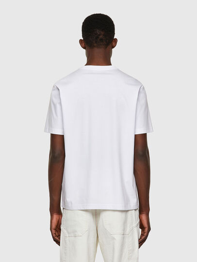 Diesel - T-JUST-WORKY, Bianco - T-Shirts - Image 2