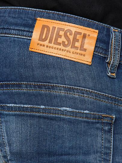 Diesel - Thommer JoggJeans 069PL, Blu Scuro - Jeans - Image 4