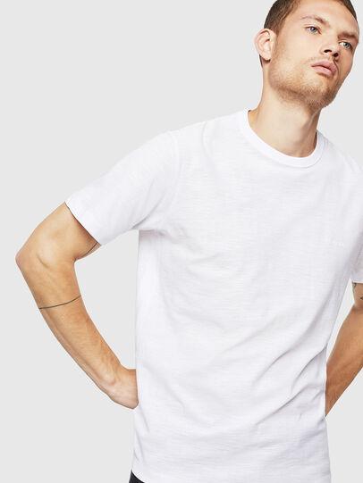Diesel - T-TARRIS, Bianco - T-Shirts - Image 4
