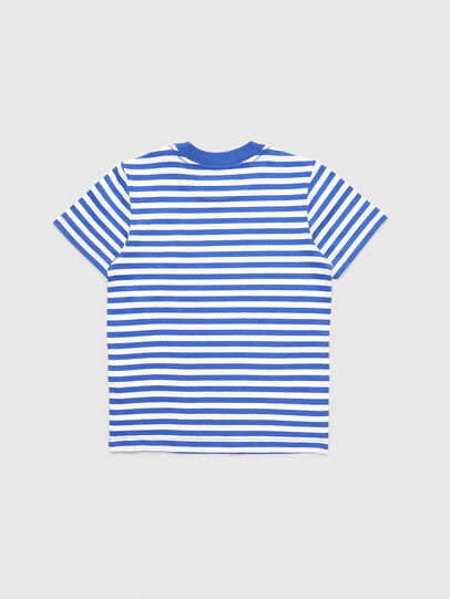 Diesel - TVIKB-R, Blu/Bianco - T-shirts e Tops - Image 2