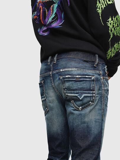 Diesel - Thommer 0092I, Blu Scuro - Jeans - Image 4