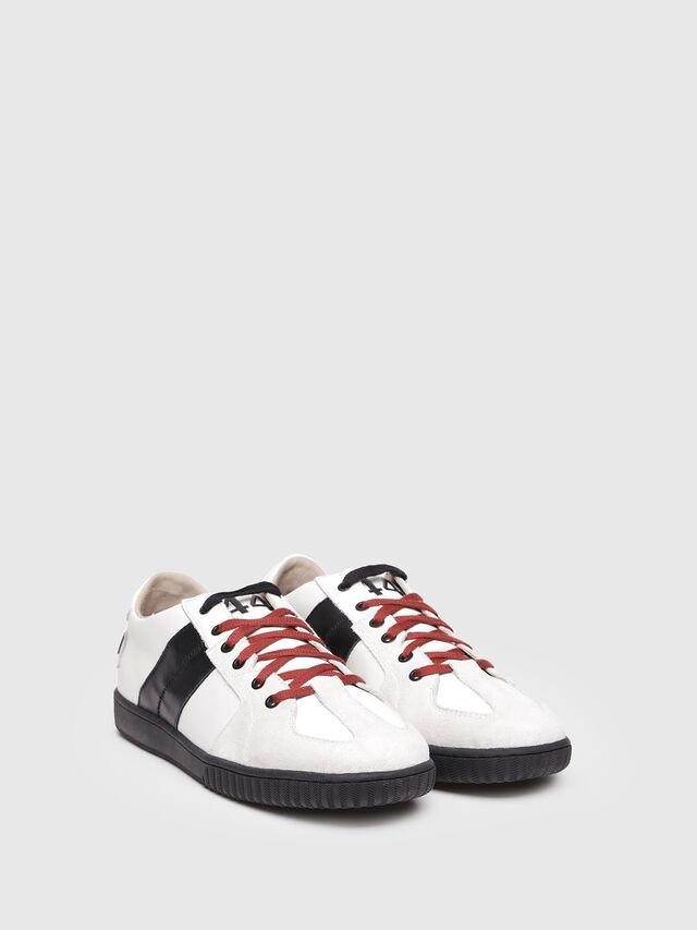 Diesel - S-MILLENIUM LC, Bianco/Nero - Sneakers - Image 2