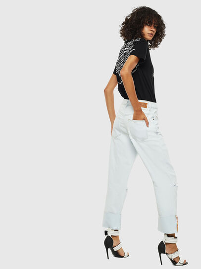 Diesel - D-Reggy 009BW, Blu Chiaro - Jeans - Image 2