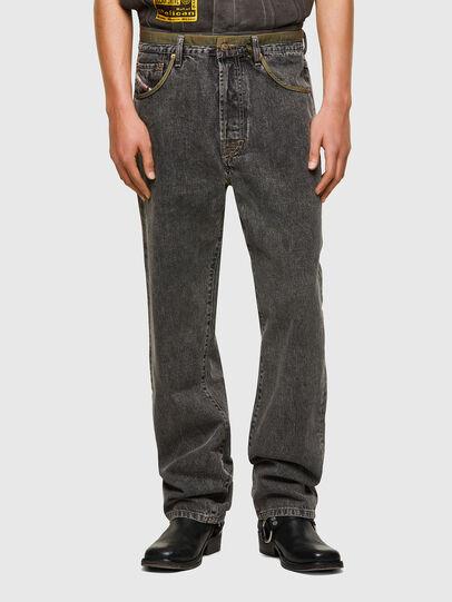 Diesel - DxD-P2 0CBBH, Nero/Grigio scuro - Jeans - Image 2