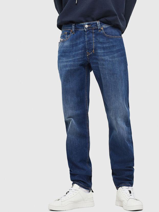 Larkee-Beex 082AZ, Blu Scuro - Jeans