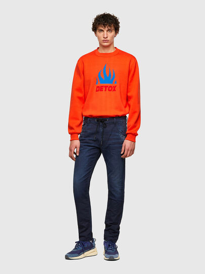 Diesel - Krooley JoggJeans® 069WT, Blu Scuro - Jeans - Image 5