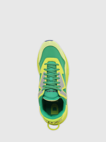 Diesel - S-SERENDIPITY LC, Giallo/Verde - Sneakers - Image 8
