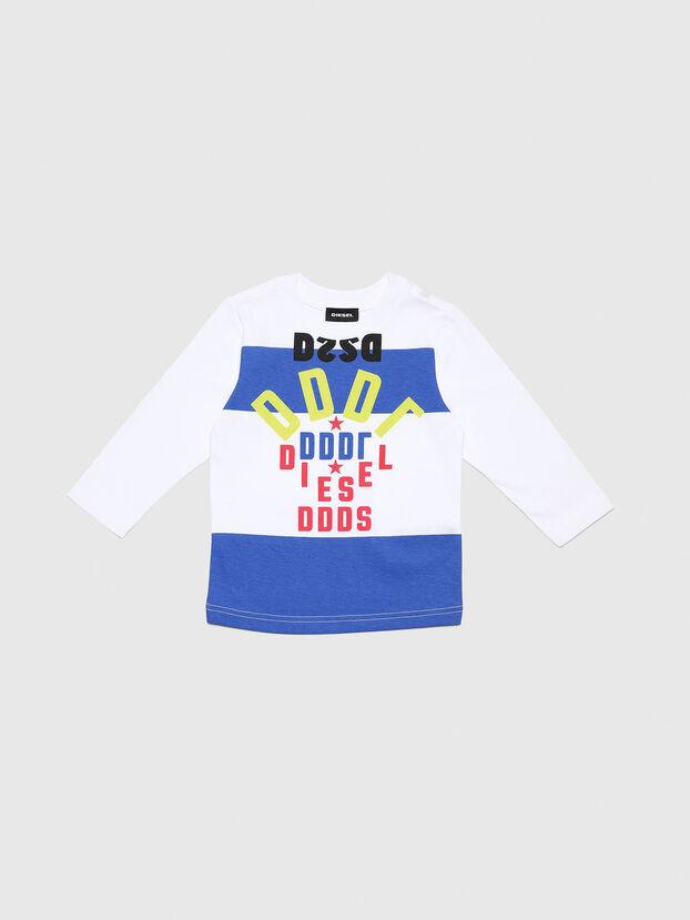 TOLIB-R, Bianco/Blu - T-shirts e Tops